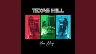 Texas Hill Neon Heart