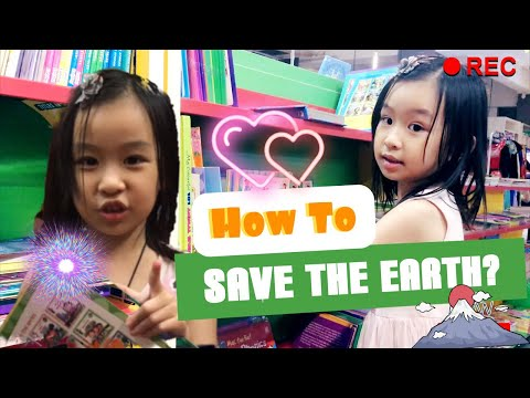 How To Save The Earth? | Protect The Earth | Shopping For Book About Earth