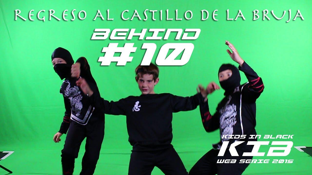 Regreso al Castillo de la Bruja - Kids In Black 2015 - Detrás de las cámaras #10