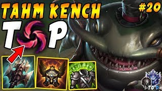 Tilting Enemies In Low Elo | Tahm Kench TOP with Hail of Blades | Iron IV to Diamond Ep #20