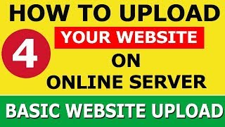 How to Upload HTML CSS based Static Website to Online Server using Cpanel and File Manager