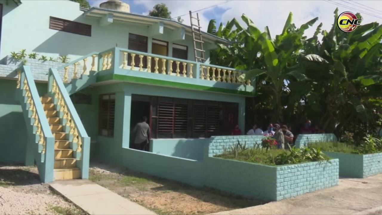Inauguran obras de beneficio social en Granma con motivo del aniversario 62 del Triunfo de la Revolución