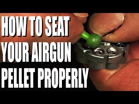 How to load an airgun pellet properly
