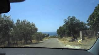 Samothraki : Road Between Profitis Ilias - Pahia Ammos (Part 1)