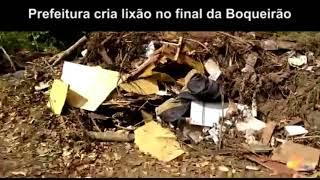 Prefeitura cria lixão no final da Rua Boqueirão