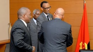 preview picture of video 'KABILA, KAGAME, MUSEVENI, DOS SANTOS Pour La PAIX'