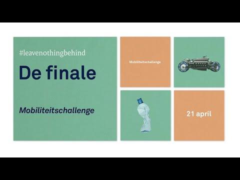 Mobiliteitschallenge, de finale 21 april 2020
