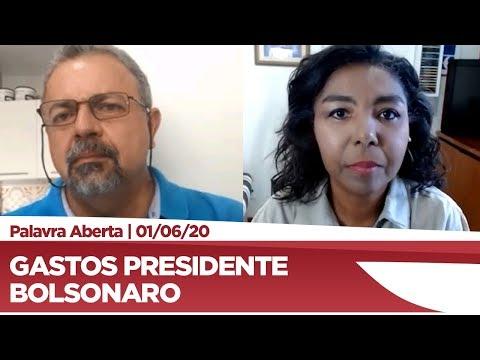 Elias Vaz comenta sobre gastos do presidente Jair Bolsonaro - 01/06/20