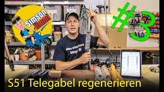 Simson S51 Telegabel regenerieren - Das neue Projekt