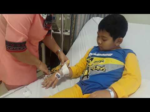Video Apenditis Yang Membuat Meringis - Raphael Operasi Usus Buntu