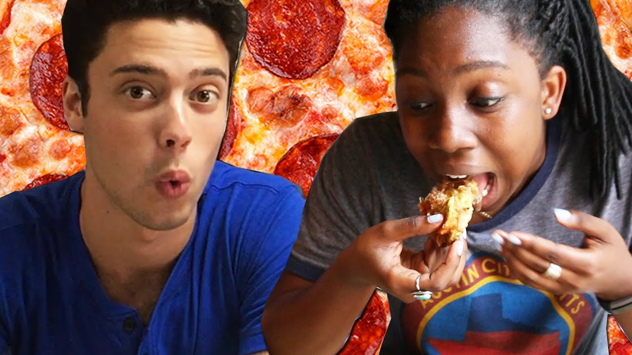 People Try Pizza From Around The World thumbnail
