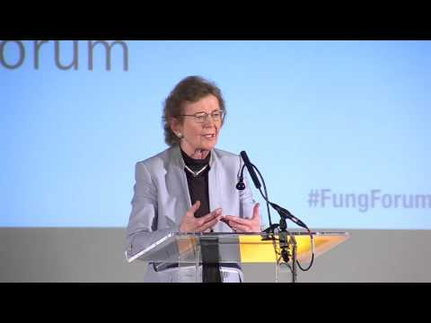 Mary Robinson Delivers a Fung Forum Keynote Address