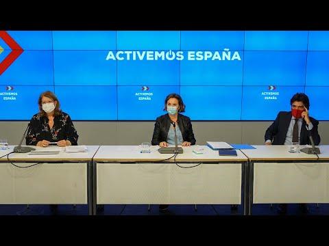 Gamarra, Rodríguez y Garcés comparecen para hablar sobre los PGE