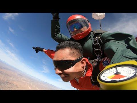 Israel Martinez-Rios - Tandem Skydive in Las Vegas at Skydive Fyrosity®
