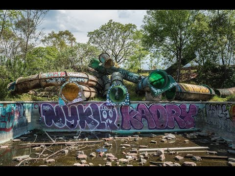 Abandoned Water Park Atlantis – Mexico City !