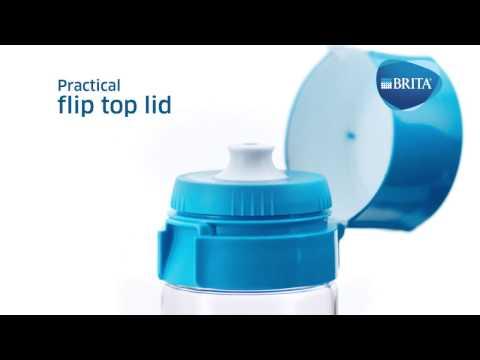 BRITA vandenį filtruojanti gertuvė Vital, rožinė kaina ir informacija | Vandens filtrai | pigu.lt