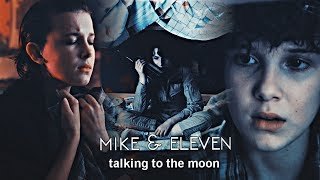 Mike & Eleven | talking to the moon. (+2x09)