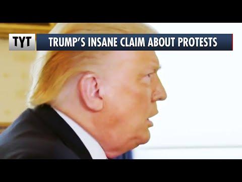 Trump's UNREAL Defense of Unmarked Federal Police in Portland