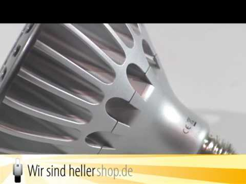 LED PAR38 Strahler mit E27 Fassung - von Wir sind heller
