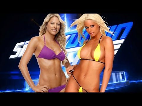 WWE 2K17 - Kelly Kelly vs Maryse / Bikini Match - Universe Mode #56