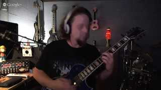 Working on Guitar Solo for Awakening - Eventide H9