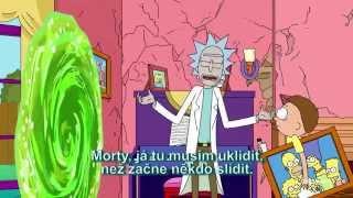Rick a Morty v Simpsonech  [CZ Titulky]