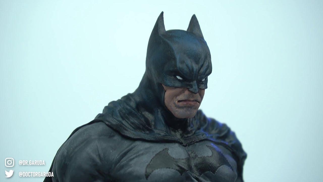 sculpture batman timelapse by dr garuda