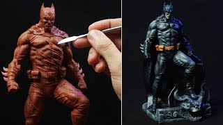 Sculpting BATMAN | Bruce Wayne (Timelapse)