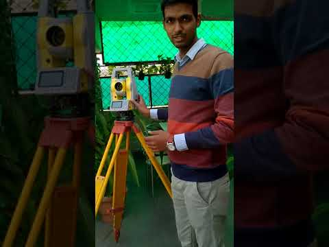 Geomax zoom 10 Total station training   Surveying with zoom 10 ...