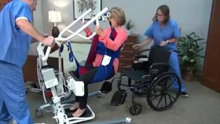 Lumex® Sit-to-Stand Lift Review Youtube Video Link