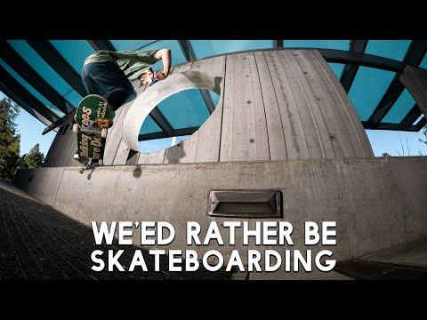 "Satori' Wheels' ""We'ed Rather Be Skateboarding"" Promo"