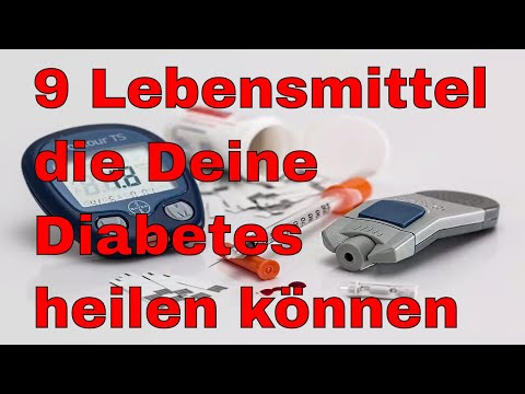 Analysen von Diabetes Typ Modi