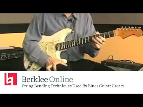 Blues Guitar Lesson: String Bending Techniques