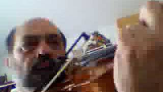 """""""Over the Rainbow"""" by Arlen & Harburg, from """"The wizard of Oz""""- violin solo"""