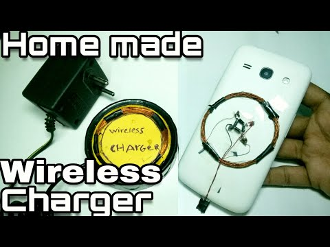How to make a easy Wireless Charger at home support any device (DIY)