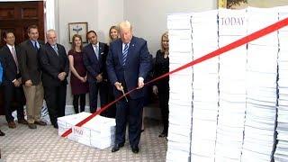 President Trump Deregulation Speech at the White House. December 14, 2017