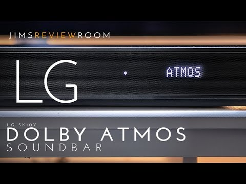 LG SK10Y Soundbar REVIEW: I test DOLBY ATMOS - Listen here!