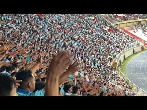 """""""Cagon hay uno solo se llama alianza lima"""" Barra: Extremo Celeste • Club: Sporting Cristal • País: Peru"""