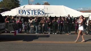 preview picture of video 'The Florettes Majorettes at the 2010 Urbanna Oyster Festival Parade'