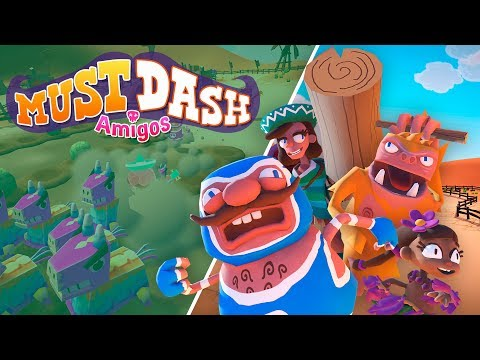 Must Dash Amigos | Xbox Launch Trailer | New Indie Game 2019 thumbnail