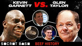 "Kevin Garnett's beef with the ""snake-like"" Wolves owner got even worse without Flip Saunders around thumbnail"