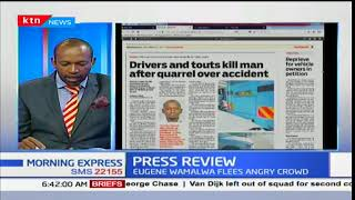 Driver and Tout kill a man after quarrel over accident