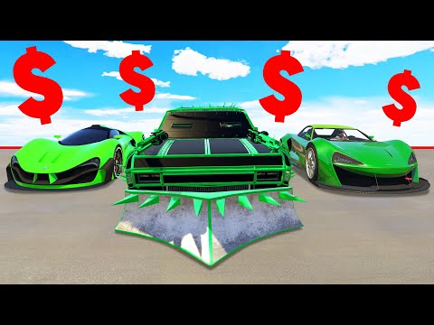 BEST DLC CARS IN GTA 5! ($150,000,000)