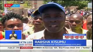 Maandamano Kisumu kutokana na tukio lililosababishwa na bodaboda kupinga mpango wa kulipa ushuru