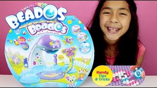 BEADOS MAGIC BEADS QUICK DRY DESIGN STATION REVIEW AND PLAY|B2cutecupcakes
