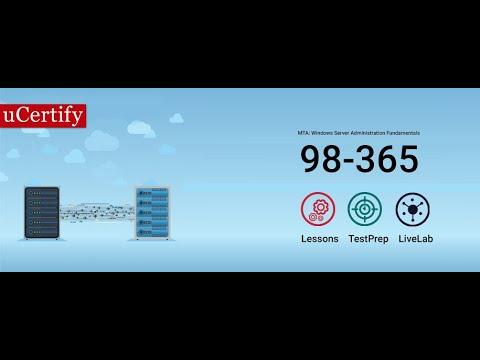 98-365: MTA Windows Server Training - YouTube