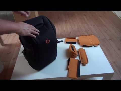 Julia Shooter Slim L Part 2 Camera bag Tasche Rucksack Test Review DSLR Kamera zb. Nikon, Sony etc