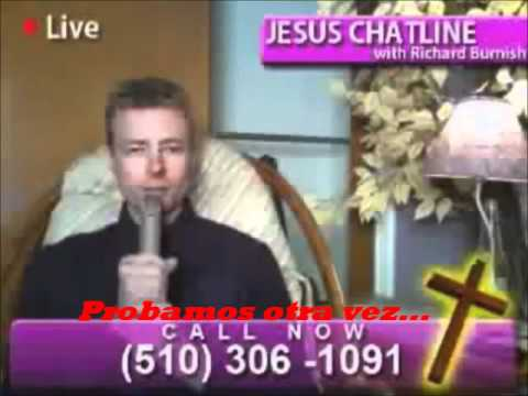 un musulman llama a un Programa de tv de los cristianos