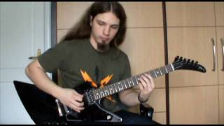Dark tranquillity - Shadow in our blood (guitar cover) (HQ)