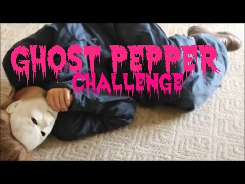 Michael Myers Eats A Ghost Pepper (Funny Halloween Parody) Off Days With Michael Ep.1